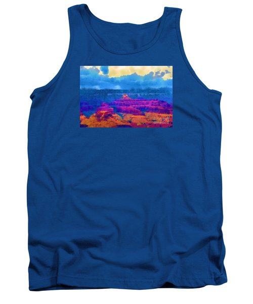 The Grand Canyon Alive In Color Tank Top by Kirt Tisdale