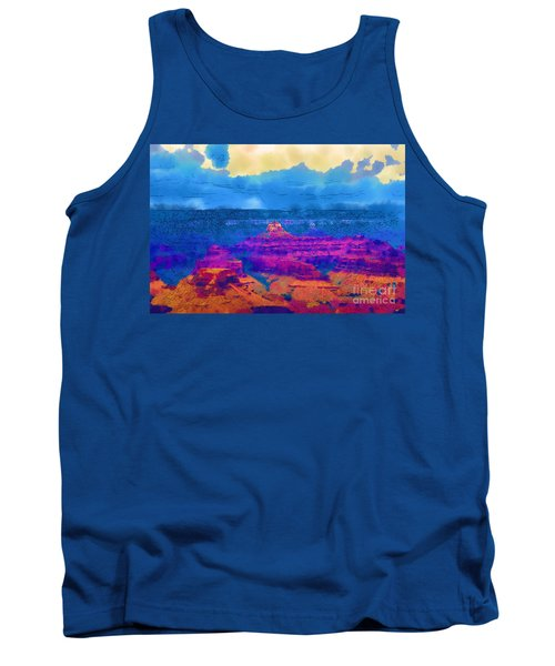 The Grand Canyon Alive In Color Tank Top