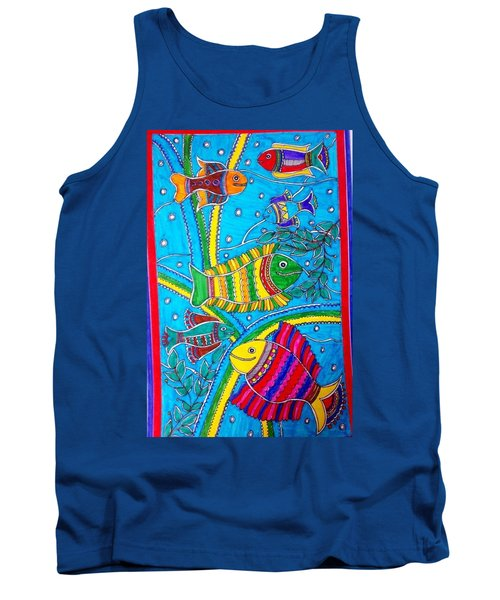 The Happy Fishes Tank Top
