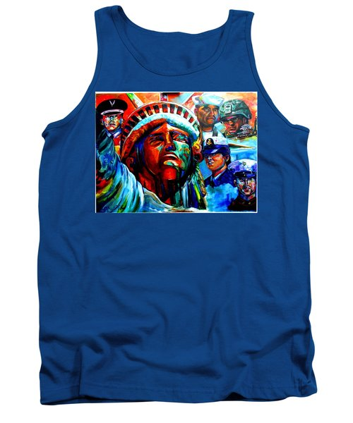 The Land Of The Free  Tank Top