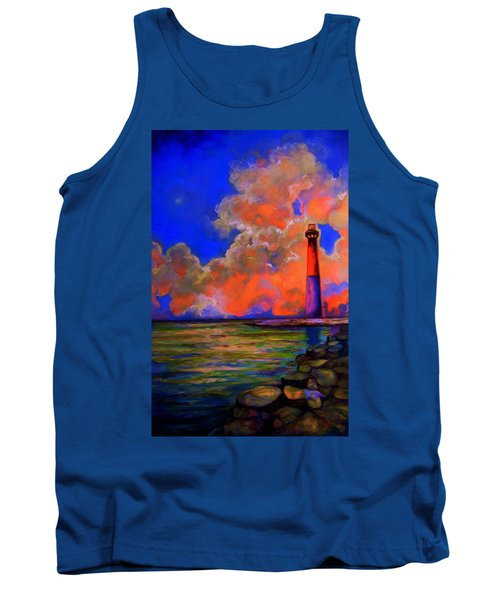 Tank Top featuring the painting The Light by Emery Franklin