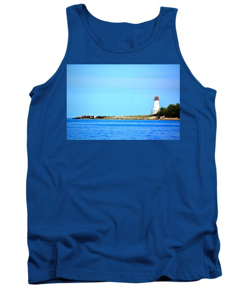 The Lighthouse At Sea Tank Top