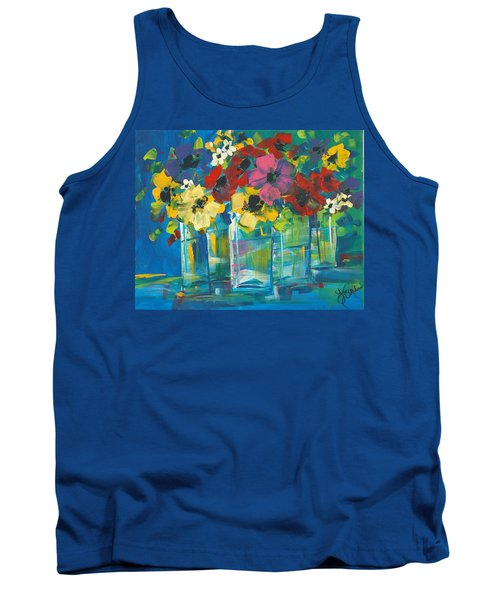 The Line-up Tank Top by Terri Einer
