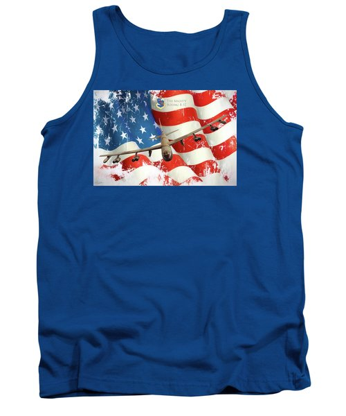 The Mighty B-52 Tank Top by Peter Chilelli