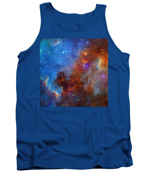 Tank Top featuring the photograph The North America Nebula In Different Lights by NASA JPL - Caltech