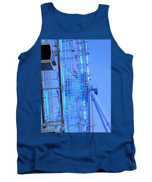 Tank Top featuring the photograph The Orlando Eye 002 by Chris Mercer