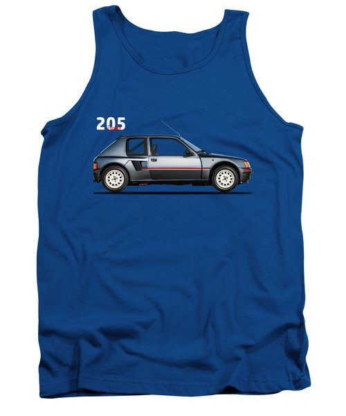 The Peugeot 205 Turbo Tank Top by Mark Rogan