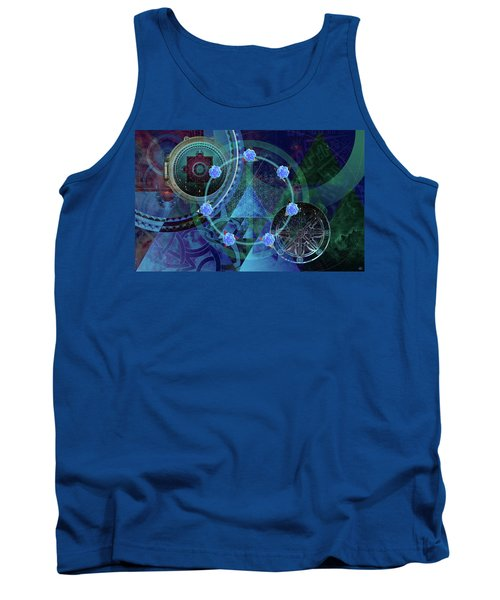 The Prism Of Time Tank Top by Kenneth Armand Johnson