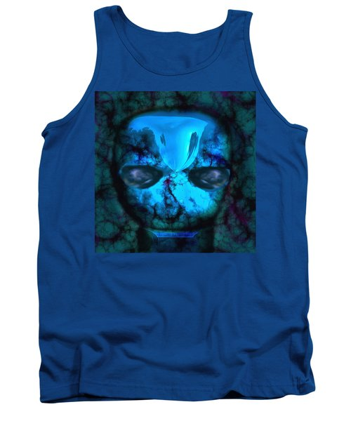 The Pukel Stone Face Tank Top