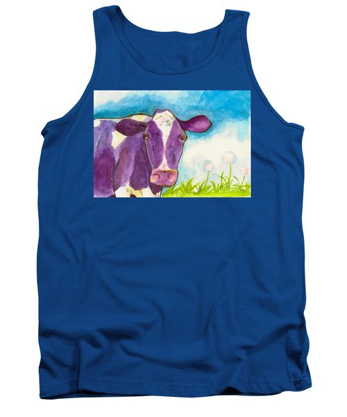 The Purple Cow Tank Top by Whitney Morton