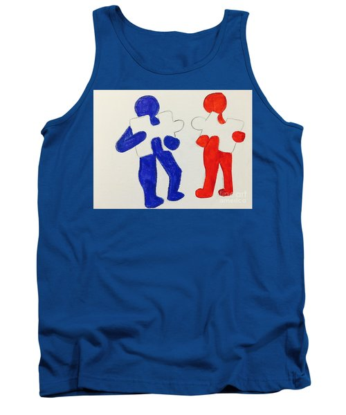 The Puzzles People  Tank Top