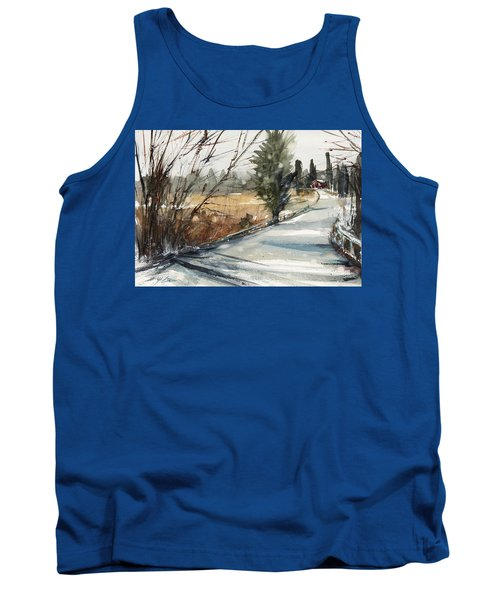 The Road Home Tank Top by Judith Levins