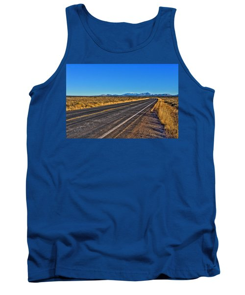 The Road To Flagstaff Tank Top