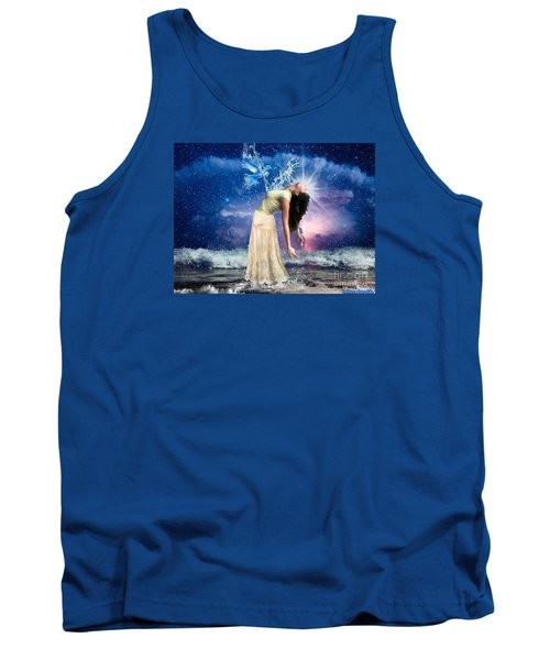 Tank Top featuring the digital art The Spirit Of Truth by Dolores Develde