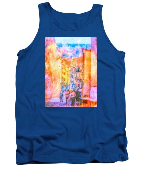 The Streets Of Prague Tank Top