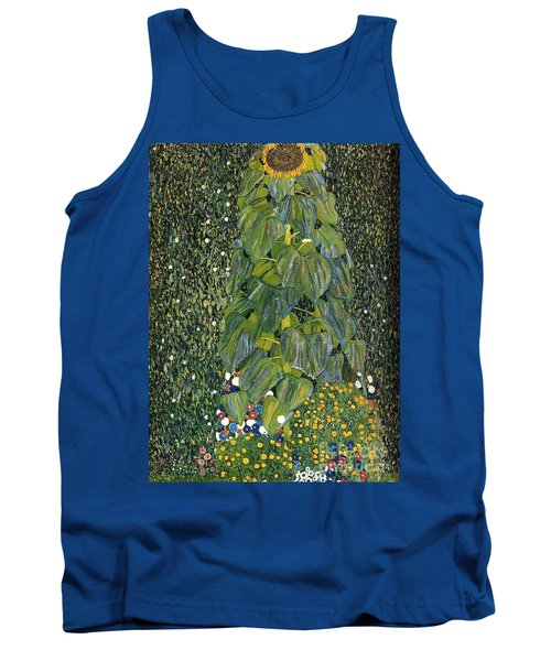 The Sunflower Tank Top by Klimt
