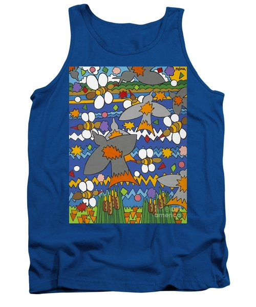 The Swallows Tank Top