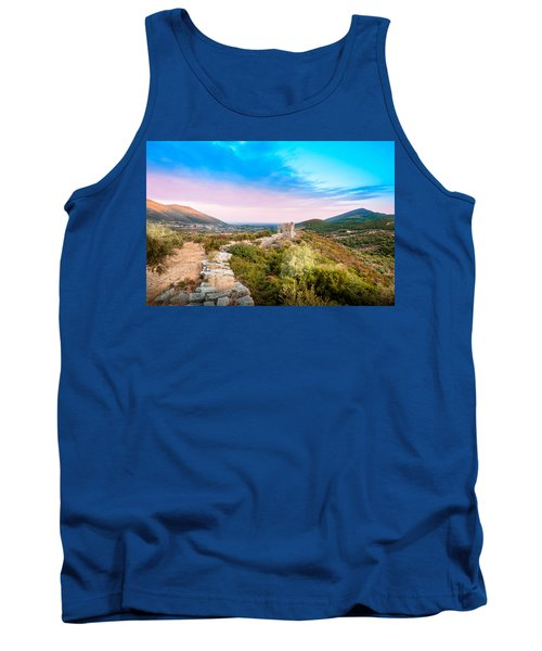 The Walls Of Ancient Messene - Greece. Tank Top by Stavros Argyropoulos
