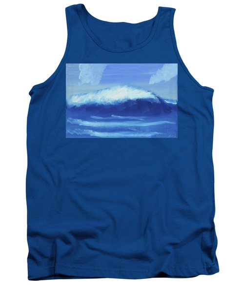 The Wave Tank Top by Artists With Autism Inc