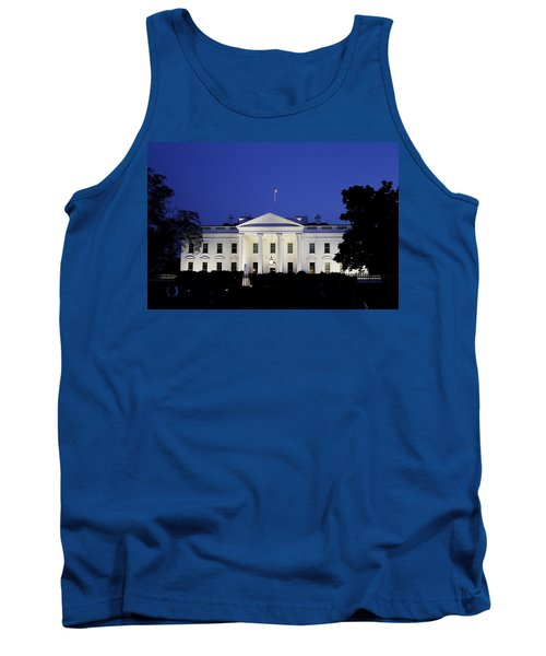 The White House At Night Tank Top