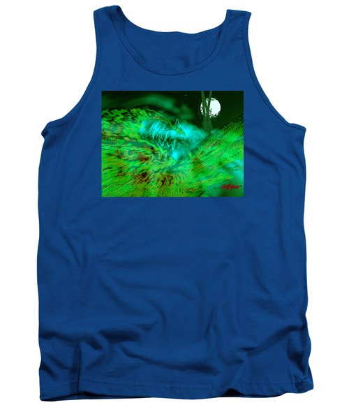 Tank Top featuring the digital art The Winged Terror Of Titicaca by Seth Weaver