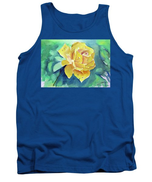 The Yellow Rose Tank Top