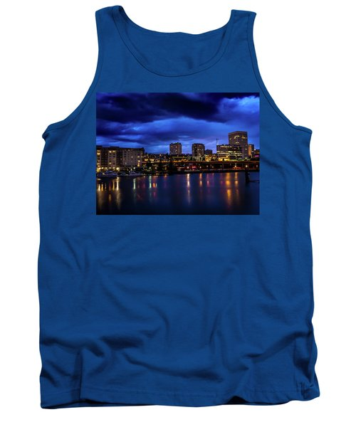Thea Foss Waterway Storm Brewing Tank Top