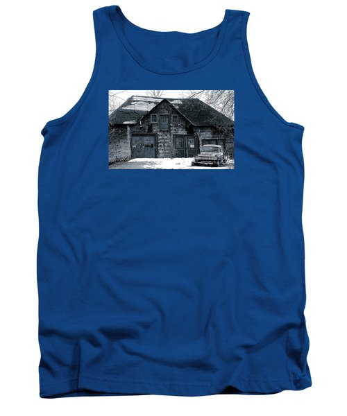 This Old House  6 Tank Top by Iris Gelbart