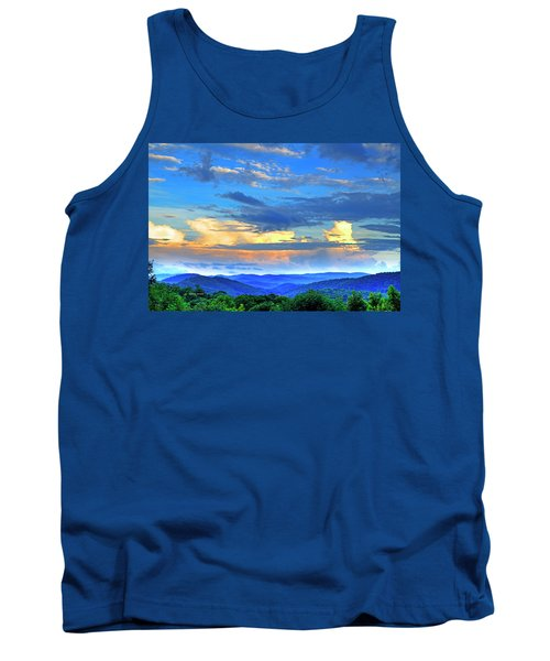 Thunderheads Tank Top by Dale R Carlson