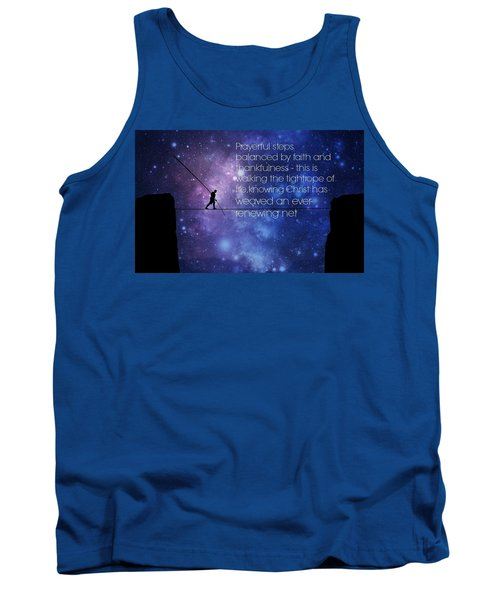Tightrope Of Life Tank Top