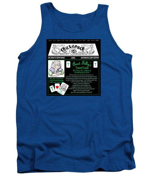 Real Fake News Tilly's Travel Card Tank Top