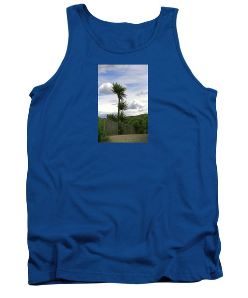 Tank Top featuring the photograph To Kouka Cabbage Tree by Nareeta Martin