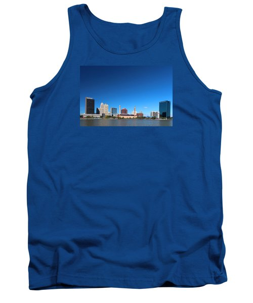 Tank Top featuring the photograph Toledo Skyline I by Michiale Schneider
