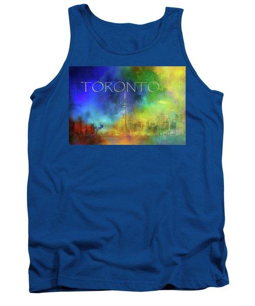 Toronto - Cityscape Tank Top
