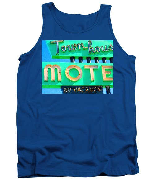 Town House Motel . No Vacancy Tank Top