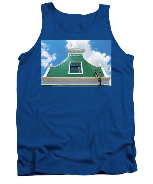 Traditional Dutch House Tank Top by Hans Engbers
