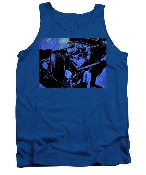 Traditional Hemi Pop Blue Tank Top