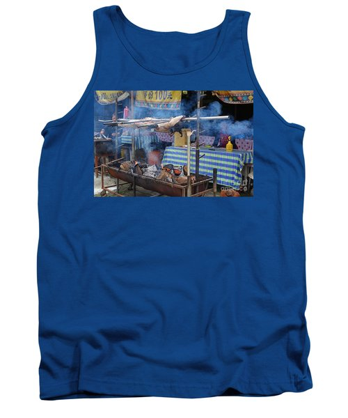 Traditional Market In Taiwan Native Village Tank Top