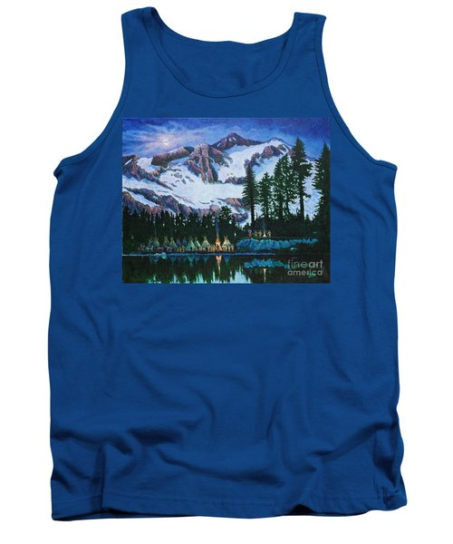 Trails West II Tank Top by Michael Frank
