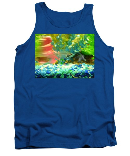 Transparent Catfish Tank Top by Barbara Yearty