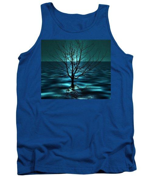 Tree In Ocean Tank Top