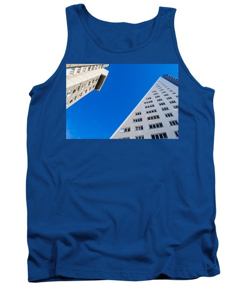 Tank Top featuring the photograph Triangle Modern Building by John Williams