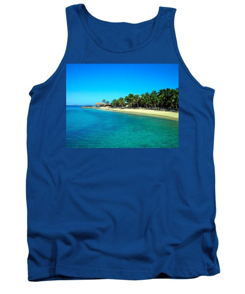 Tropical Bliss Tank Top by Betty Buller Whitehead