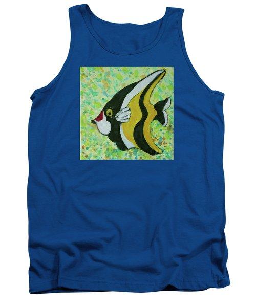 Tropical Fish Series 1 Of 4 Tank Top