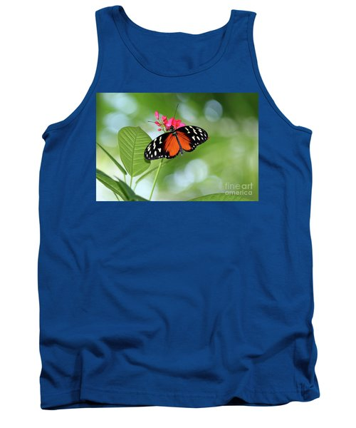Tropical Hecale Butterfly Tank Top
