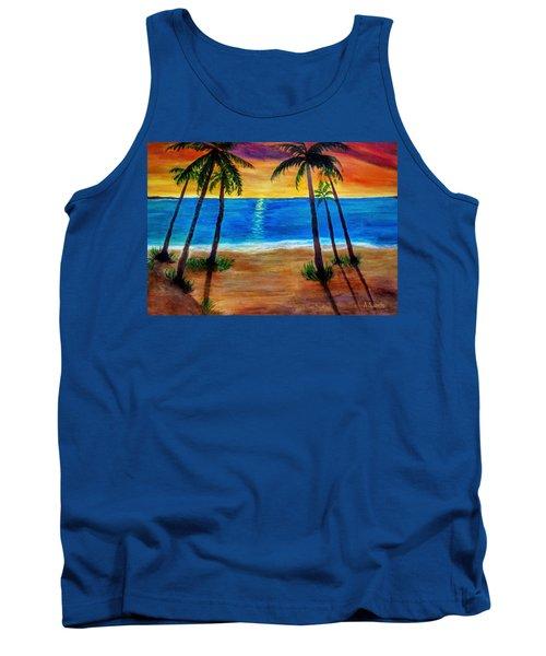 Tropical Paradise Tank Top
