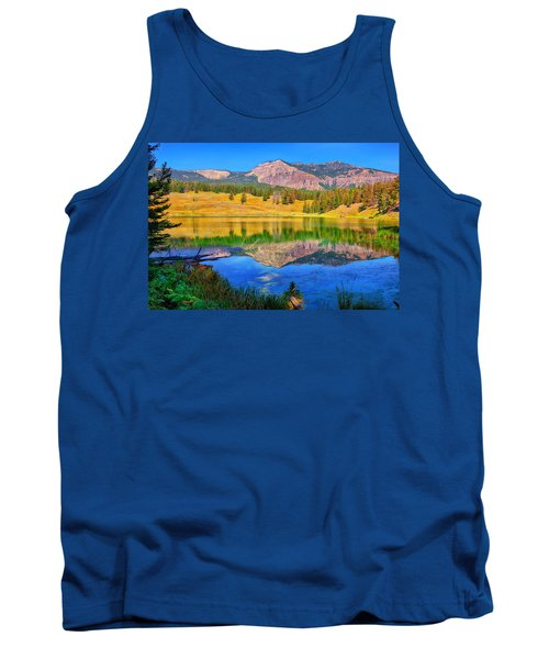 Tank Top featuring the photograph Trout Lake by Greg Norrell