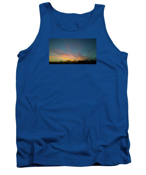 Tank Top featuring the photograph Tuesday Sunrise by Anne Kotan