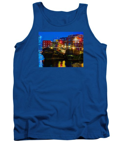 Tug Boat Alley 026 Tank Top
