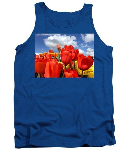 Tulips In The Sky Tank Top
